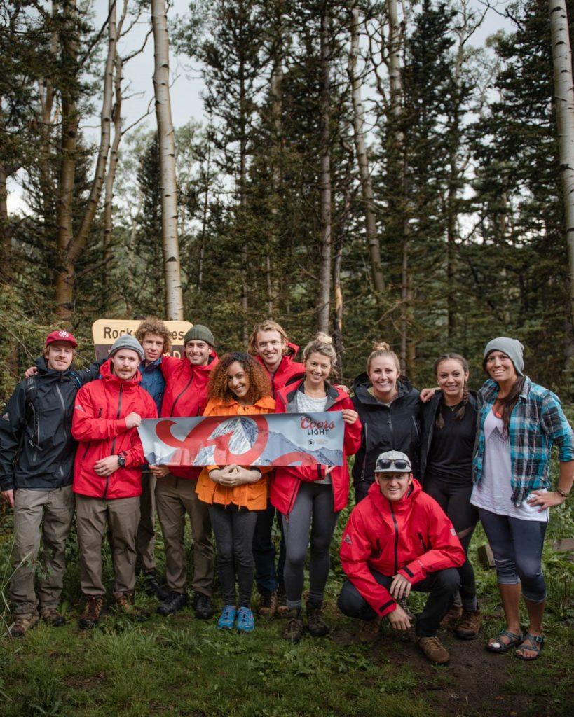 'Climb with Coors' - Wilson Peak, Colorado