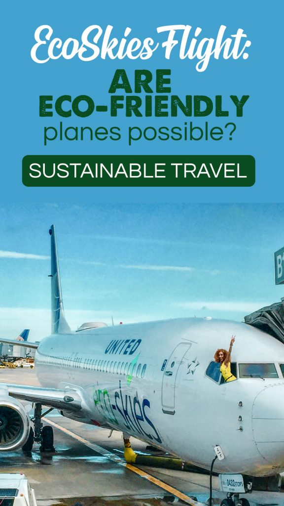 Most Eco-Friendly Flight in History: United EcoSkies