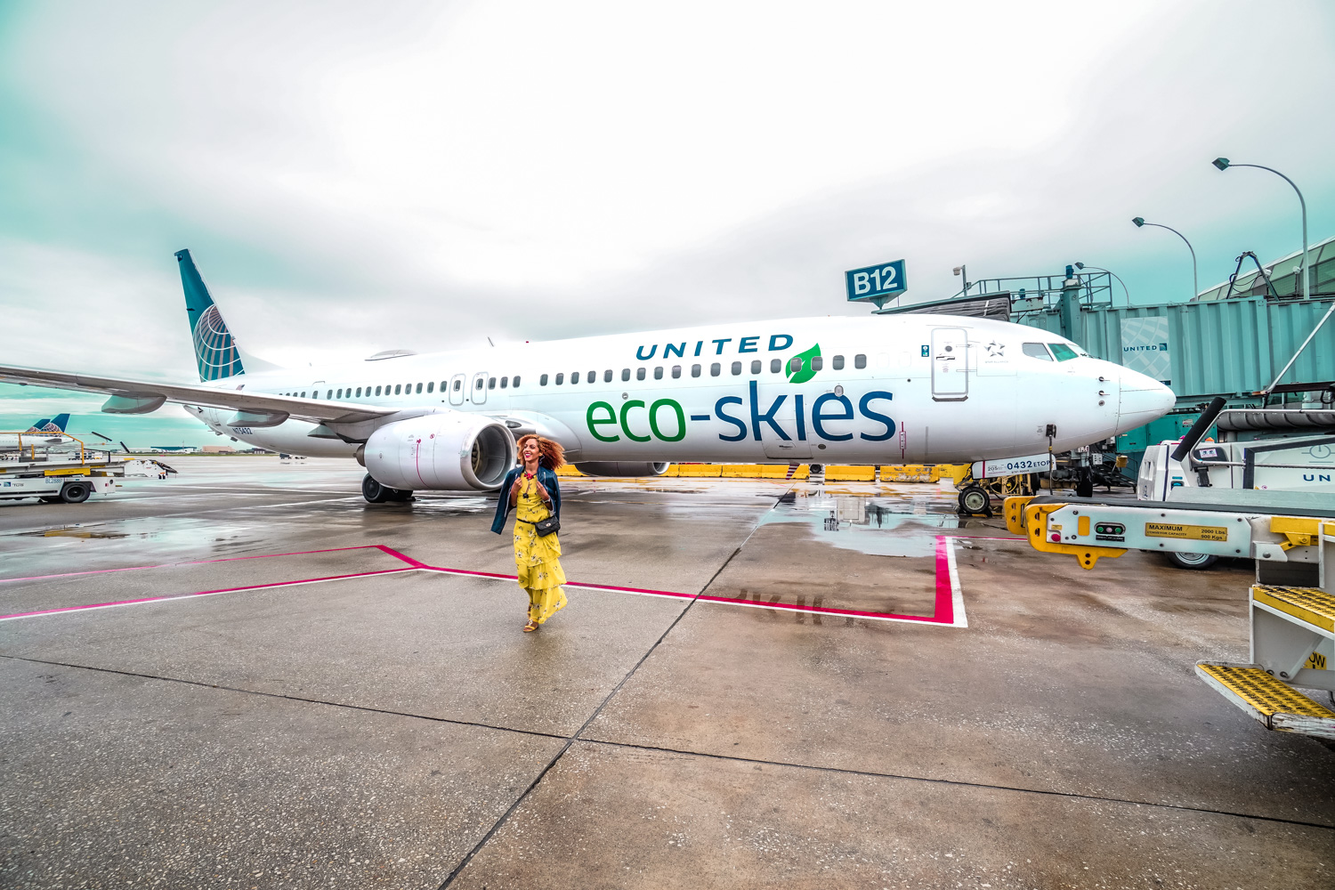 I Flew On The Most Eco-Friendly Flight in History