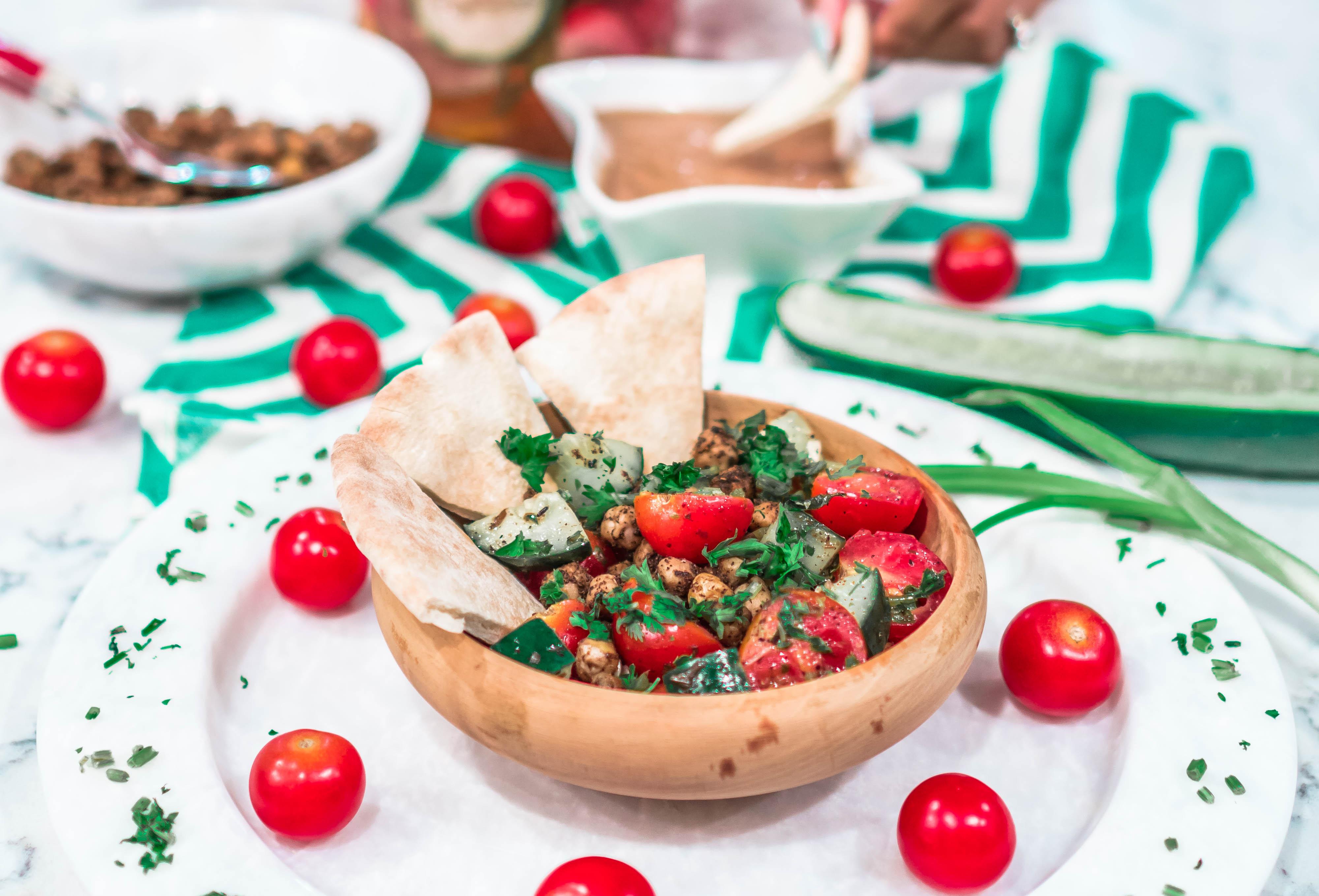 Easy Israeli Salad Recipe